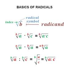 math operations simplification equations exponents radicals