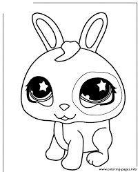 Small Picture Littlest Pet Shop Cute Bunny Coloring Pages Printable