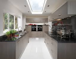 Gray Kitchen Kitchen Black And Grey Winda 7 Furniture