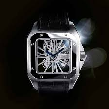 cartier gets serious the evolution of cartier men s watches cartier santos 100 skeleton