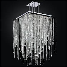 outdoor delightful faux crystal chandelier 6 cityscsape glow square pendant 598md24 37sp 7 beautiful faux crystal