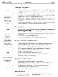 Sample Resume For Art And Craft Teacher Artist Resume Template