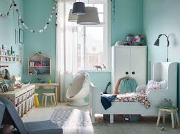 Image Double Bed Ikea Busunge White Extendable Bed And Wardrobe Along With Flisat Light Wood Childrens Table Can Transform Ikea Childrens Furniture Ideas Ikea