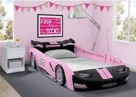 Boys black bedroom furniture Huey Image Is Loading Carbedframeracetwinsizetoddlerkids Ebay Car Bed Frame Race Twin Size Toddler Kids Boy Girls Bedroom