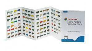 Humbrol Spray Paint Colour Chart Humbrol Enamel Paint And Conversion Chart