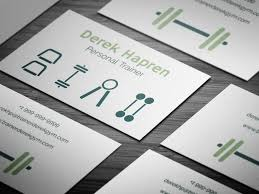 Free Personal Cards Free Personal Training Business Card Template