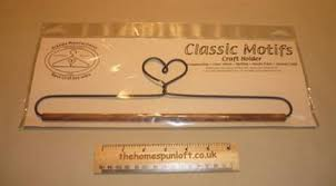 12  Heart Flat Wire Quilt Hanger with Wooden Dowel | Quilt Hangers ... & 12