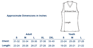 Volleyball Size Chart Sublimated Long Sleeve Volleyball Jerseys 1075