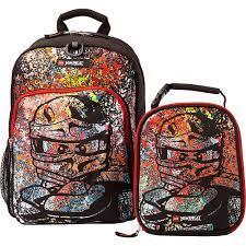 Ninjago Spraypaint Backpack & Lunch | Backpacks, Ninjago, Lego ninjago