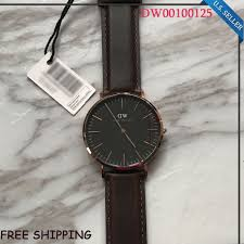 daniel wellington dw00100125 classic bristol dark brown 40mm mens new daniel wellington dw00100125 classic bristol dark brown 40mm mens watch