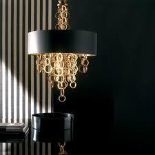 chandelier gold modern modern italian black and gold chandelier juliettes interiors