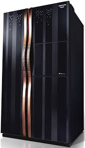 stained glass door rose gold kitchen