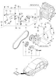 kia rio radio wiring diagram images additionally kia kia rio air conditioner 2001 sportage starter location diagram