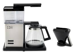 motif essential pour over style coffee brewer w glass carafe