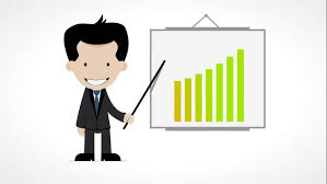 Chart Cartoon Line Chart Ascending And Cartoon Stock Footage Video 100 Royalty Free 4398278 Shutterstock