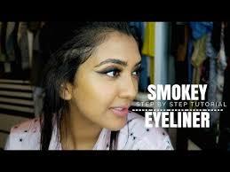 smokey liner tutorial vithya hair and makeup artist