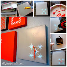 i  on diy shoebox wall art with shoe box lid clock diy inspired