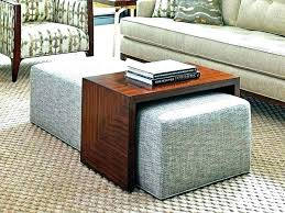 leather ottoman with tray ottoman tray table storage tray ottomans home goods ottoman home goods storage