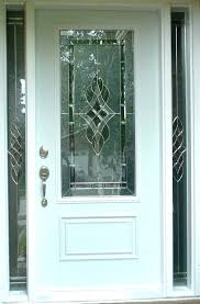 stained glass exterior doors sidelight glass inserts surprising design ideas glass entry door doors residential commercial