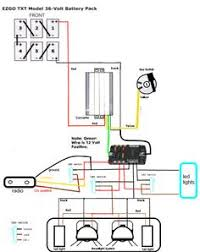 ezgo golf cart wiring diagram wiring diagram for ez go 36volt wiring diagram ezgo 36 volt whats the correct way to wire my voltage reducer and fuse block? 36 volt ez go all stock i picked up this fuse block also got a 30 amp reducer from