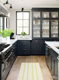 Design Kitchen Cabinets Online Impressive Kitchen Black Kitchen Cabinets Decorating Ideas Black Kitchen