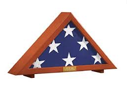personalized flag display case. Perfect Personalized Military Flag Display Case With Personalized Brass Plaque  Holds 5u0027 X 95u0027  Folded In I