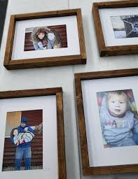 diy wood picture frame diy wooden picture frame ideas