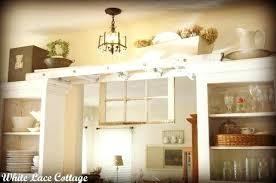 Above Kitchen Cabinet Decorations Impressive Decorating Design