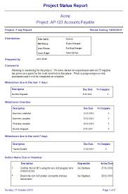 project weekly report format how write a weekly report template business templates operations