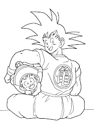 Dragon Ball Anime Goku And Gohan