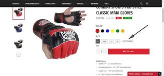 Ufc Glove Size Chart How To Choose Mma Gloves Zoobgear