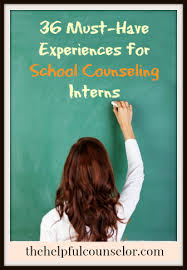 36 Must Have Experiences For School Counseling Interns
