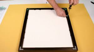 how to make a picture frame with metal frame components