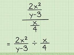 image titled divide a fractional algebraic expression by a fractional algebraic expression using the fractional