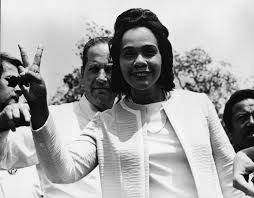 coretta scott king martin luther king jr wife facts com coretta scott king photo by gene forte getty images