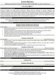 police resume