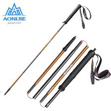 <b>2pcs</b>/<b>set</b> AONIJIE E4102 <b>M</b>-<b>Pole Folding</b> Quick Lock Trekking Poles ...