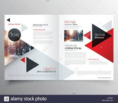 How To Design A Bifold Brochure Business Bifold Brochure Or Magazine Cover Design Template