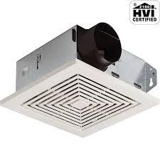 broan 670 white 50 cfm 3 5 sone ceiling or wall mounted hvi certified bath fan ventingdirect com