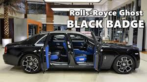 rolls royce ghost black. rollsroyce ghost black badge with bespoke interior rolls royce