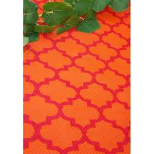 orange outdoor rug pink orange outdoor rug