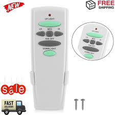 hampton bay ceiling fan remote control uc7078t with up down light us er bp