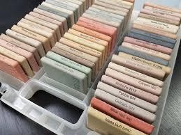 Davis Concrete Color Chart Davis Colors Concrete Pigment Tile Sample Kit