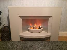 jupiter electric suite 2kw sandstone with matching bowl pebbles