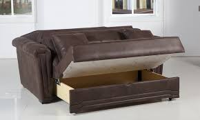 Endearing Pull Out Sofa Bed With Storage Storage Chaise Couch
