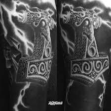 молот тора значение татуировок в россии Rustattooru