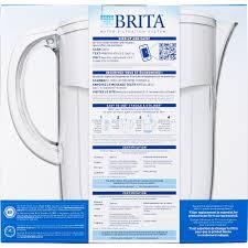 brita water filter. Brita Large Everyday Water Pitcher With Filter - 10 Cup BPA Free White Walmart.com