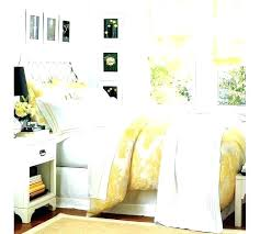 mustard yellow duvet cover linen from cb2 s