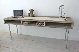 wooden desk reclaimed wood desk with steel legs wooden desk name plates philippines