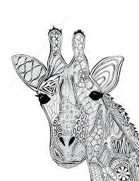 Giraffe Coloring Pages Giraffe Coloring Pages For Giraffe Coloring